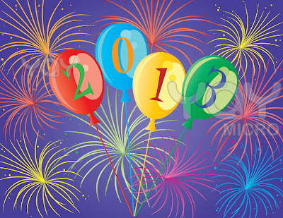 Happy New Year Day 2013