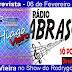 Cantor Hiago Vieira concede entrevista nesta sexta-feira a Rádio Abrasom em Adustina-BA
