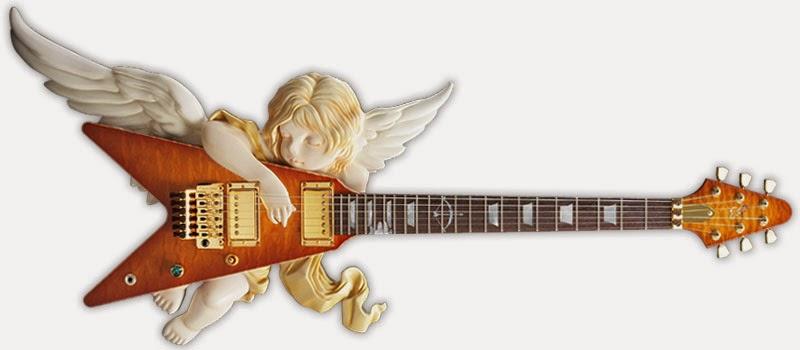 Guitarras: os impressionantes anjos de Takamizawa Toshihiko