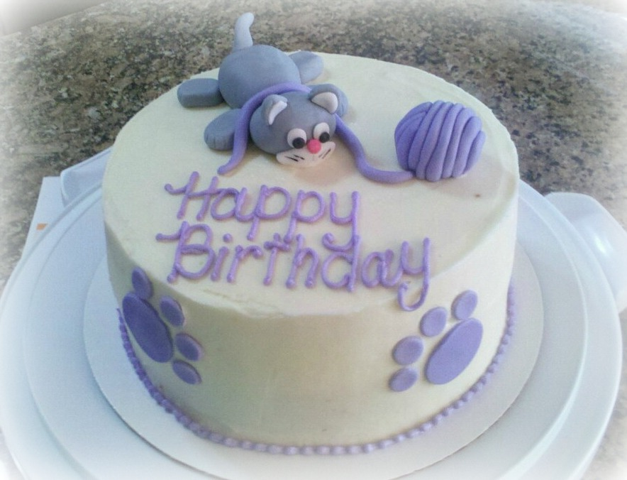 Birthday Cakes With Cats Image Inspiration of Cake and Birthday