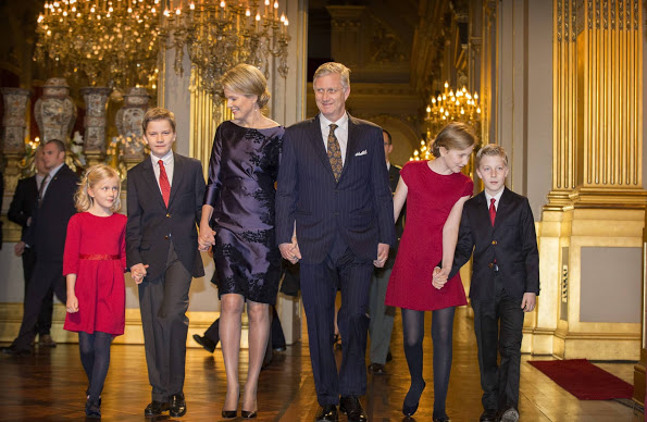 Belgium Royal Family At The Annual Christmas Concert