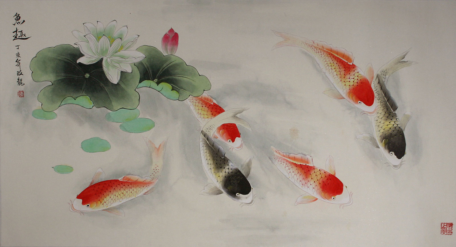 Will work for food yellowtail crudo watercolor for Japanese fish painting