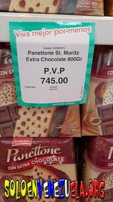El Panettone más caro del mundo, Solo en Venezuela