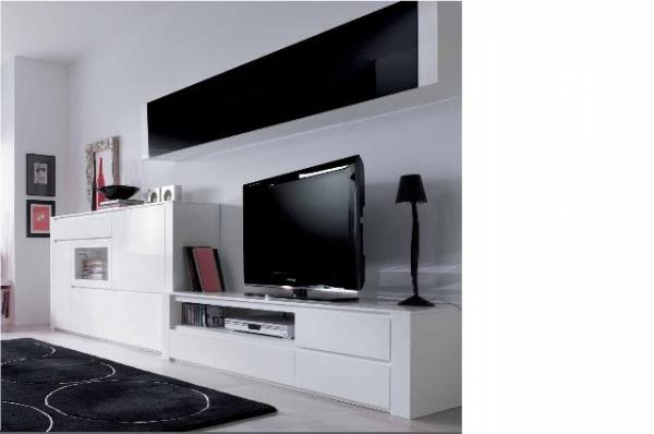 Tienda muebles modernos muebles de salon modernos salones - Muebles de salon lacados ...