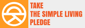 Take the simple living pledge
