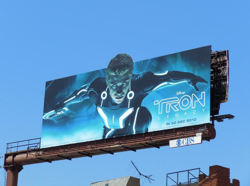 Garrett Hedlund Tron billboard
