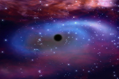the definition of the mysterous black holes While scientists are still struggling to explain exactly what a black hole is, they are now examining the possibility of a counter to the mysterious entities - white holes.