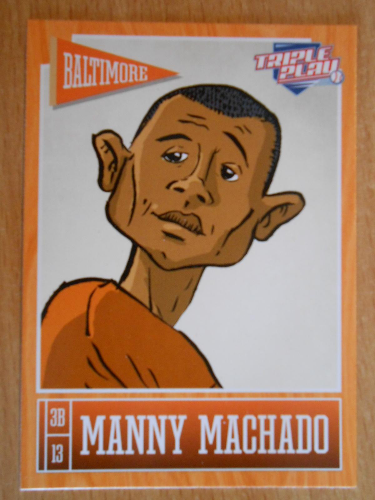 Manny Machado Looks About 75
