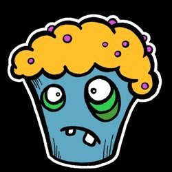 Zombie muffin