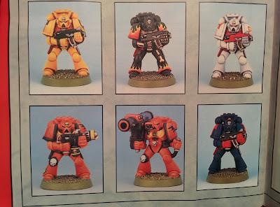 Citadel Colour Paint Set 1994 - Guide Marines
