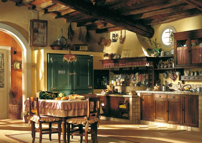 Una cocina r stica ideas para decorar dise ar y mejorar - Como disenar una cocina rustica ...