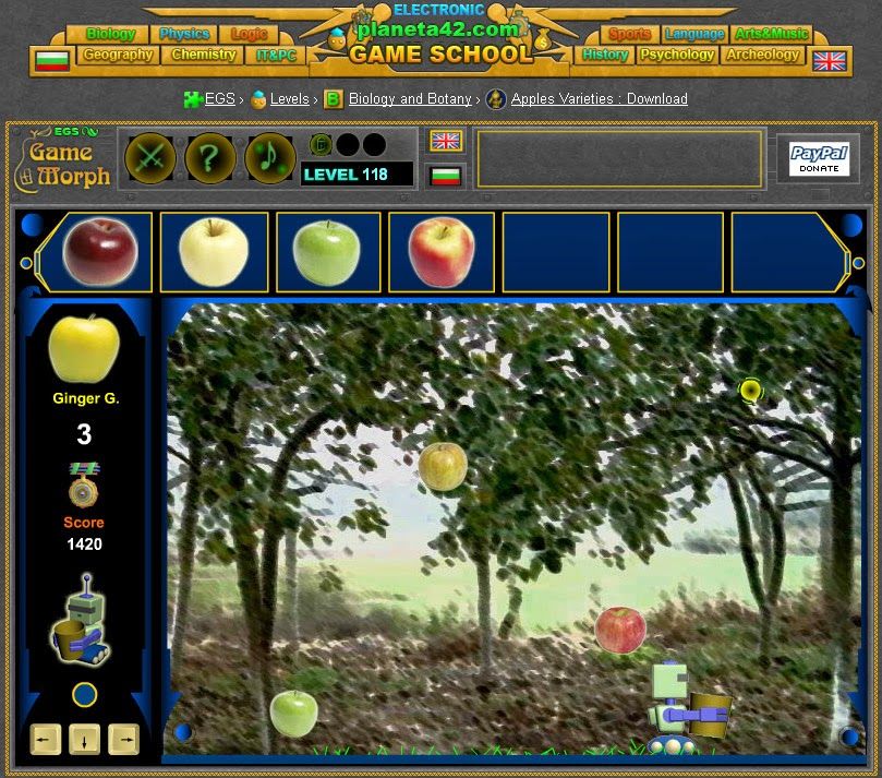 Apples Varieties Screenshot