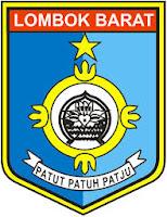 logo/lambang kabupaten Lombok Barat (Lobar)