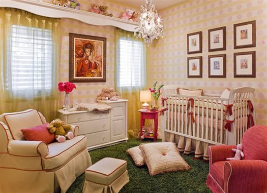 Modern Baby Nursery Decorating Ideas