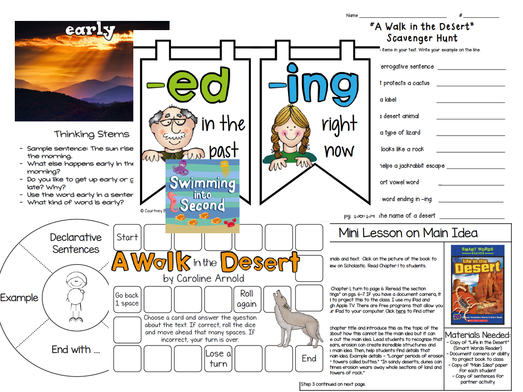 http://www.teacherspayteachers.com/Product/A-Walk-in-the-Desert-resources-for-Reading-Street-1343078