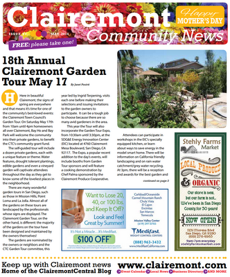 Clairemont Community News May 2014 Cover