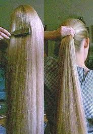 تطويل الشعر وتكثيفه