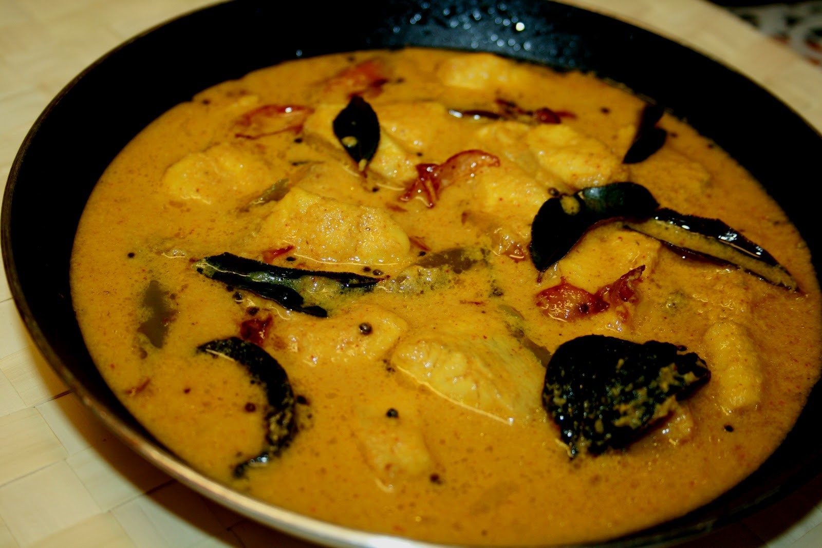 thenga aracha meen curry - Curry Kitchen