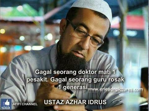 Gagal Seorang Doktor Mati 1 Pesakit Gagal Seorang Guru Rosak Satu Generasi