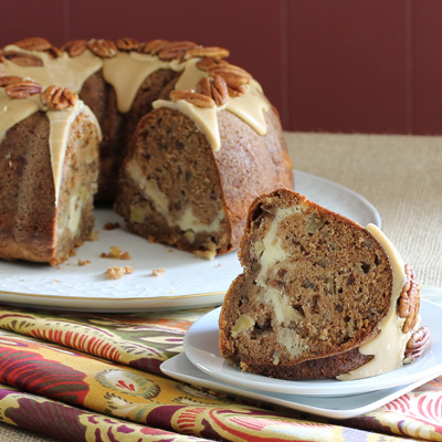 Have Recipes-Will Cook: Apple-Cream Cheese Bundt Cake