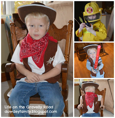 boy in cowboy costume