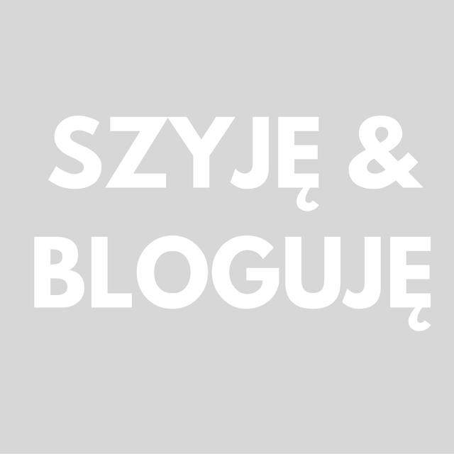 Szyję i bloguję