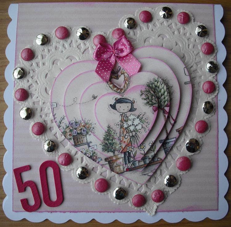 A Moment in Time Happy 50th Birthday Sylvia – Sister 50th Birthday Cards