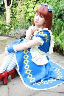 Koyuki Cosplay as Alice from Heart no Kuni no Alice Cosplay