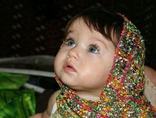 Gratis gambar bayi cantik dari india