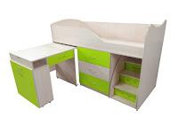 Ліжко горище + стіл