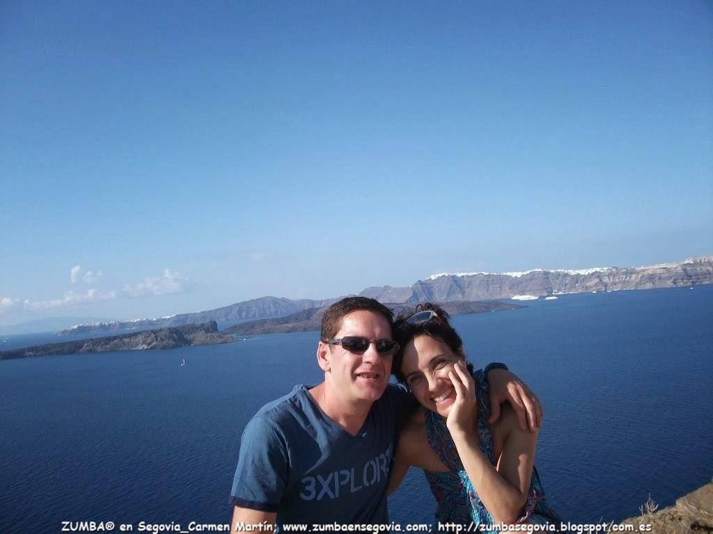 Recuerdos de verano ZUMBA en Segovia Carmen Martin en Grecia