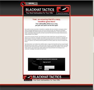 template mini-site web 7