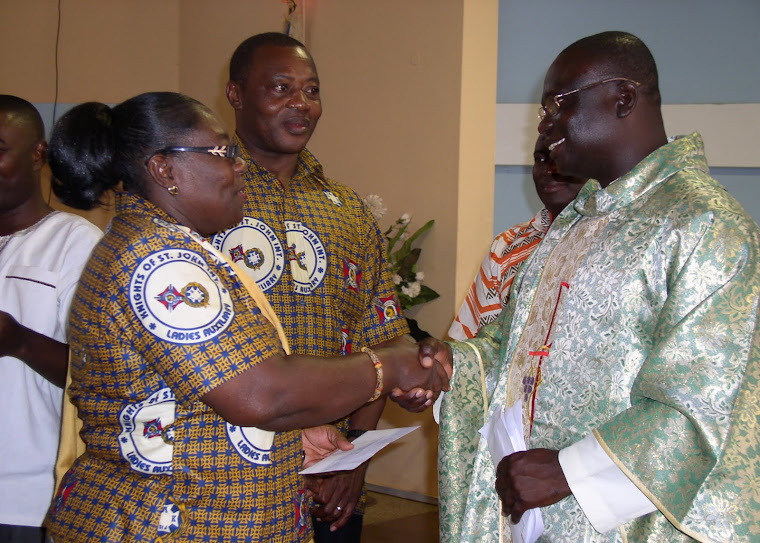 Presentation to Departing Priest