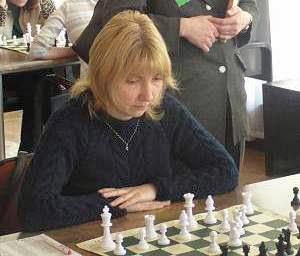 Irina Semenova bij een ander toernooi