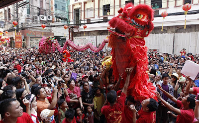 Chinese New Year in Manila, Philippines