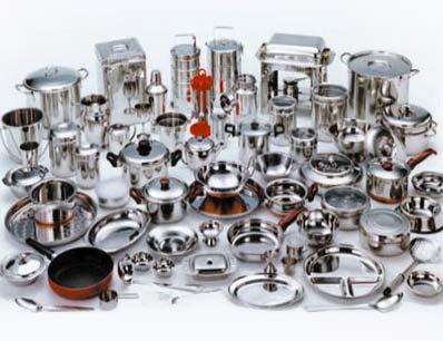 Stainless steel kitchen utensils for Kitchen set in hindi