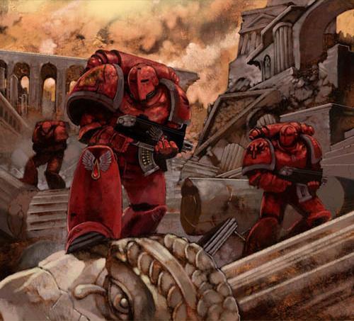 Warhammer 40k Blood Angels: Improved Pics Of The Week: Blood Angels