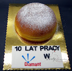 tort pączek