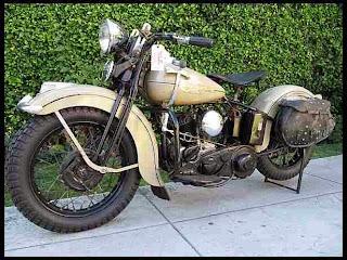 Moge Harley Davidson WLD Solo Bekas Lni Laku 1,2 Miliar