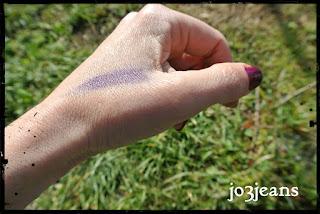 test sur peau mature paupières ridées rides