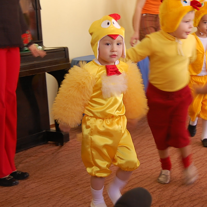 Как сшить костюм цыпленок 497