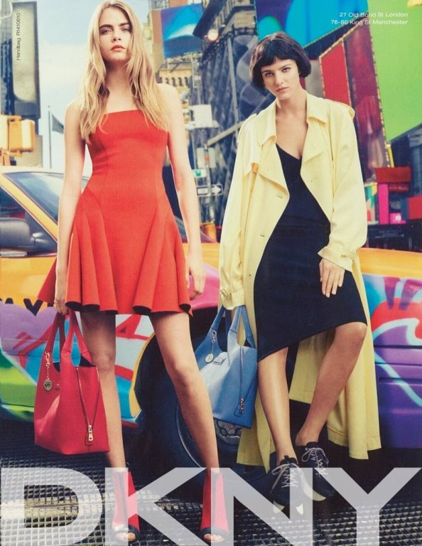DKNY spring summer 2014 ad campaign