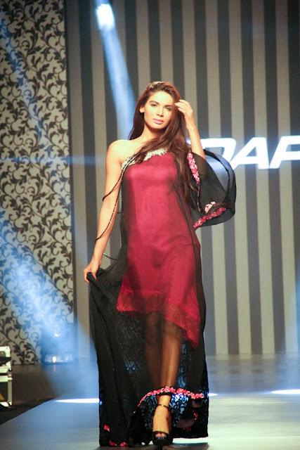 Pakistani fashion designer Ayesha Ibrahim
