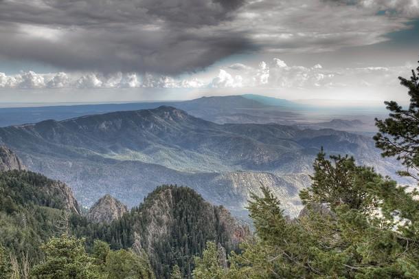 New Mexico Manzano Mountains, Southeast of Albuquerque