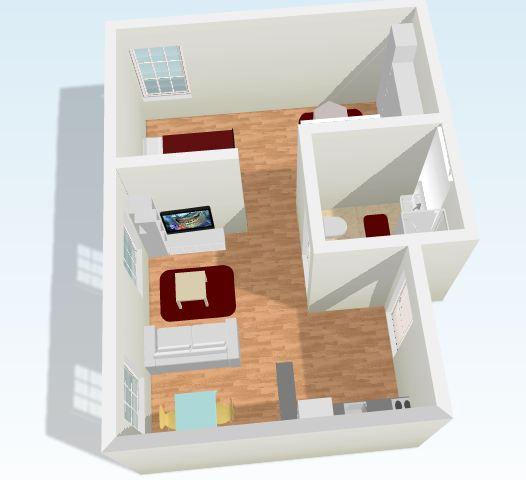 Blog decor decorar un loft peque o for Decorar piso tipo loft