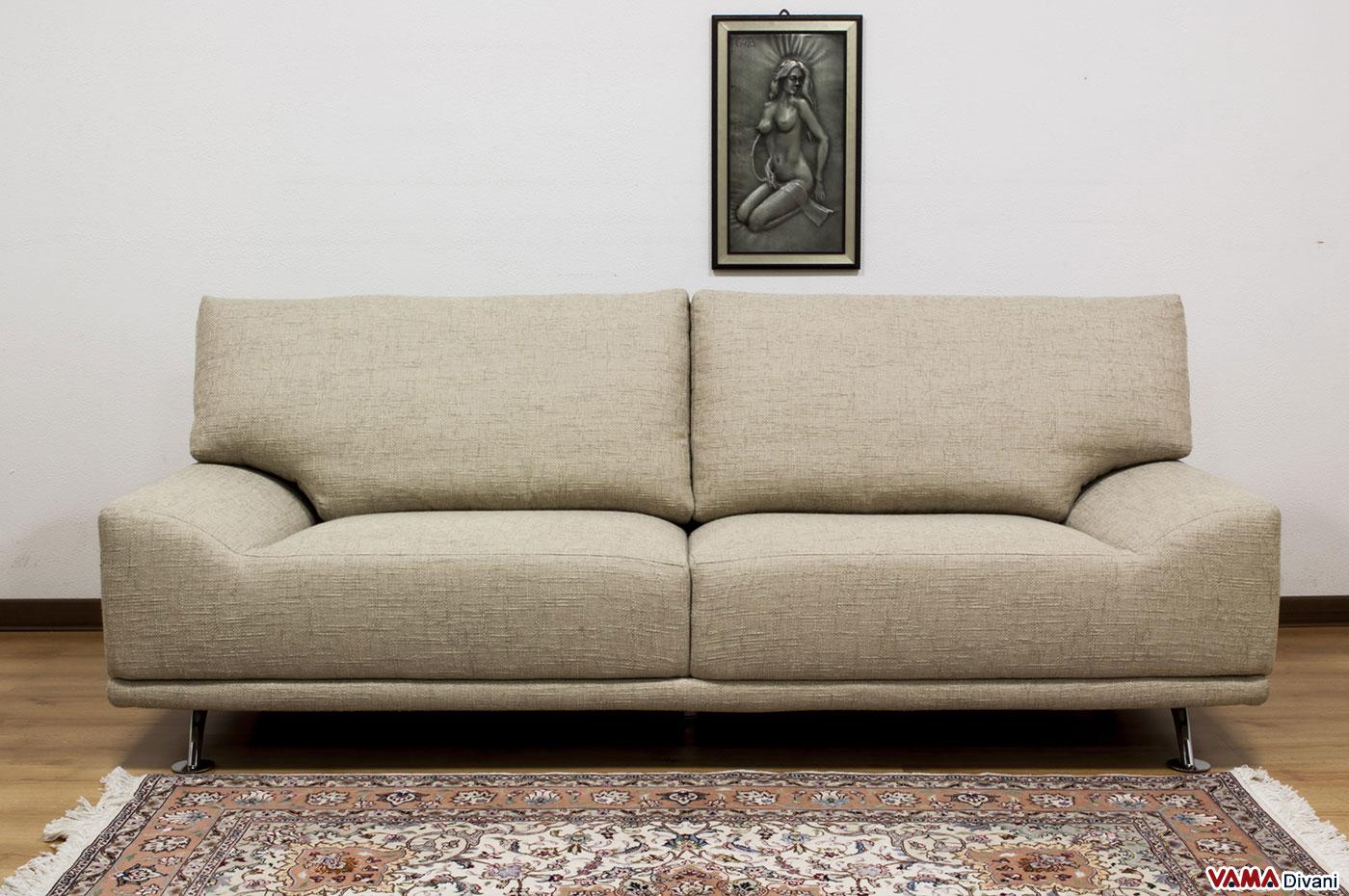 Divani Grandissimi : Vama divani ginger il divano moderno senza braccioli