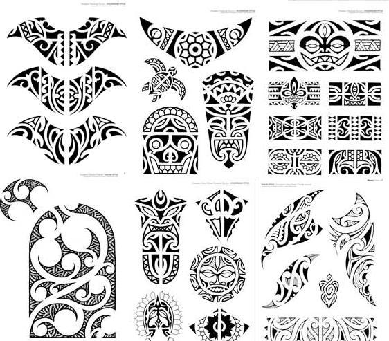 Maori Tattoo Designs for Women