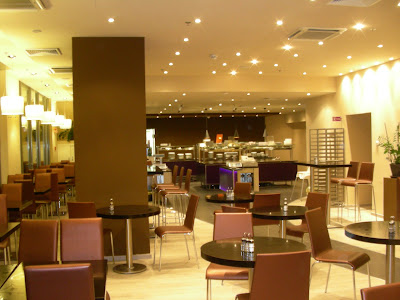 Frissen festett étterem az V. ker-ben.