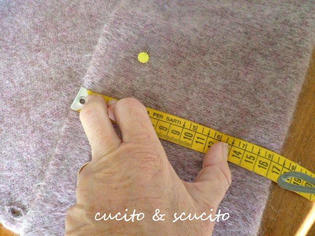 Come accorciare le maniche di un maglione di lana