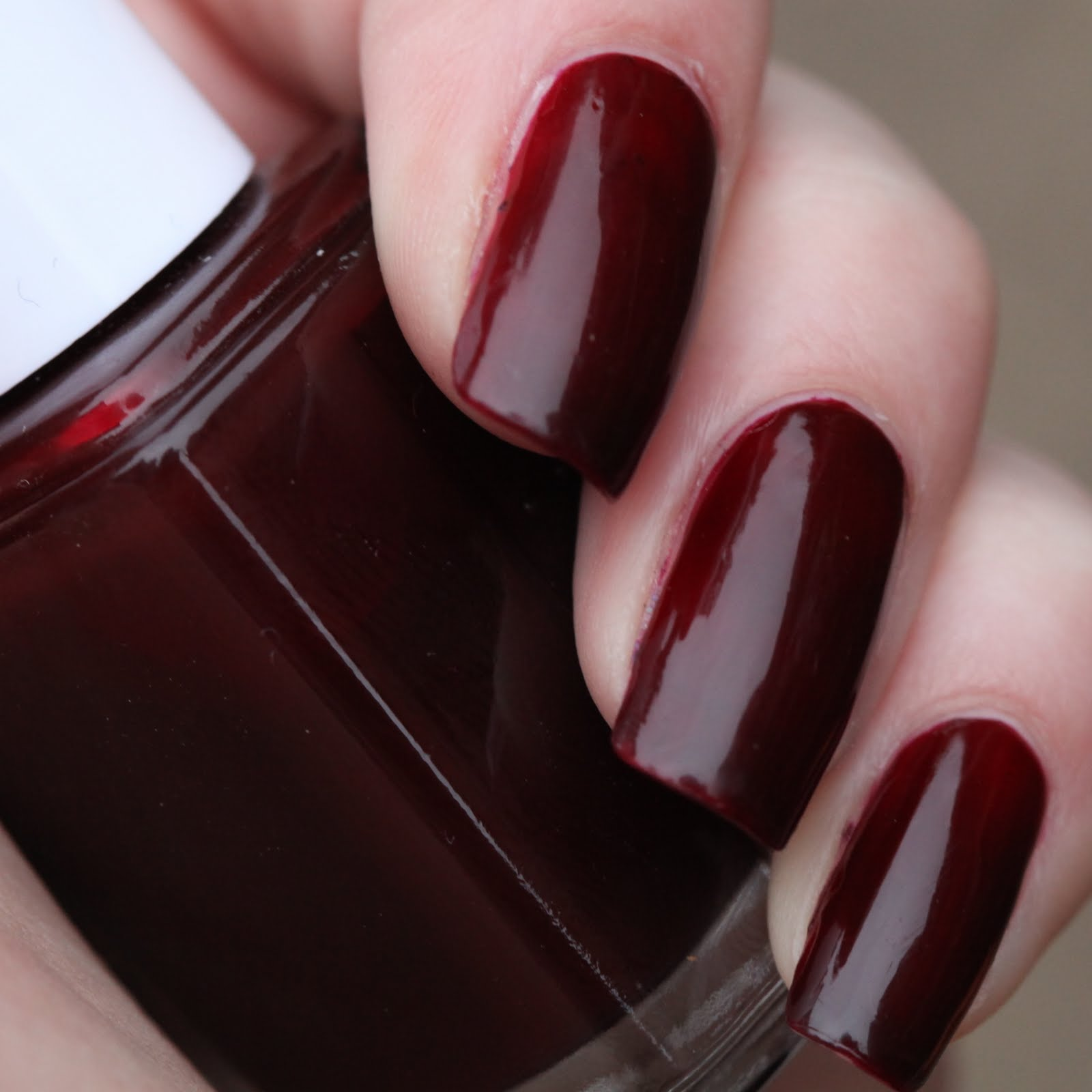 Polish or Perish: Vamps for October: Essie Lacy not Racy